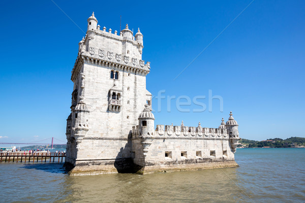 Tower of Belem Lisbon, Portugal Stock photo © vichie81