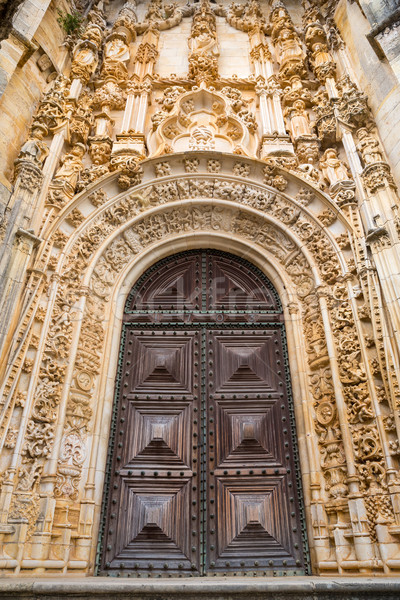 Round Church Tomar portugal Stock photo © vichie81