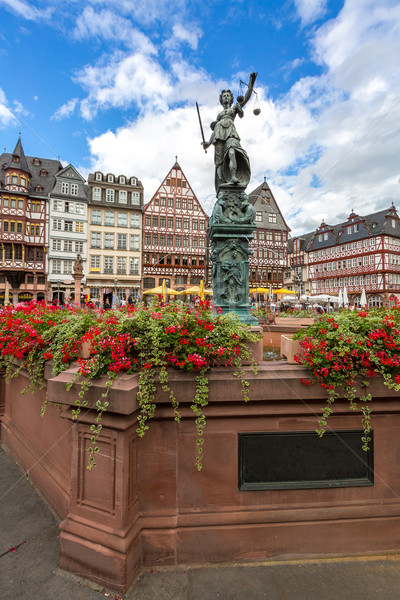 Frankfurt old town Stock photo © vichie81