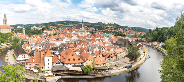 Cesky Krumlov, Czech Republic Stock photo © vichie81