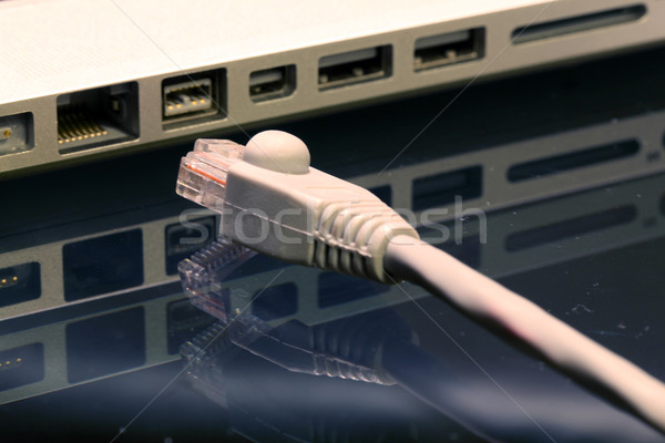 Unplug LAN Wire Stock photo © vichie81