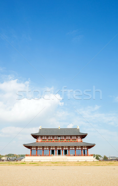 Heijo Palace in Nara Stock photo © vichie81