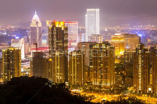Taipei, Taiwan skylines Stock photo © vichie81