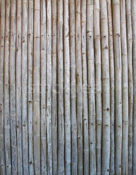 Bambusz panel öreg textúra fa fal Stock fotó © vichie81