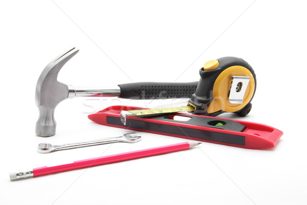 construction tool set Stock photo © vichie81