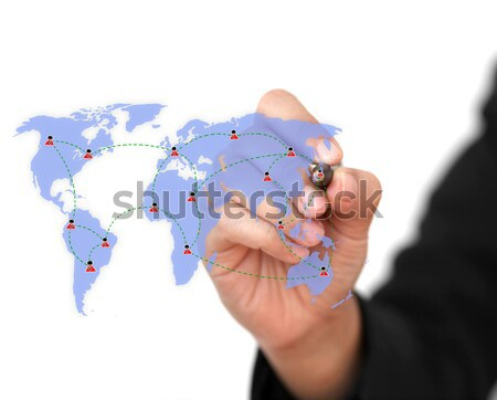 Business Expansion Stock photo © vichie81