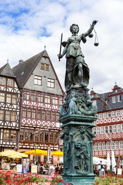 Frankfurt old town Stock photo © vichie81