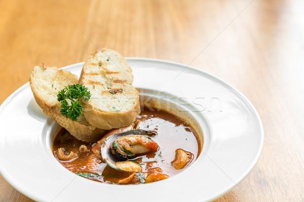 Seafood Marinara Stock photo © vichie81