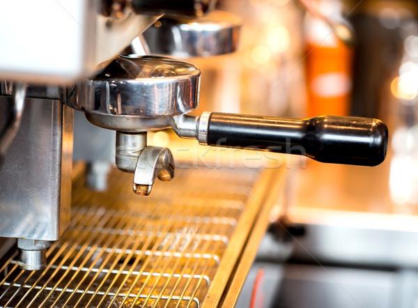 Coffee machine Stock photo © vichie81