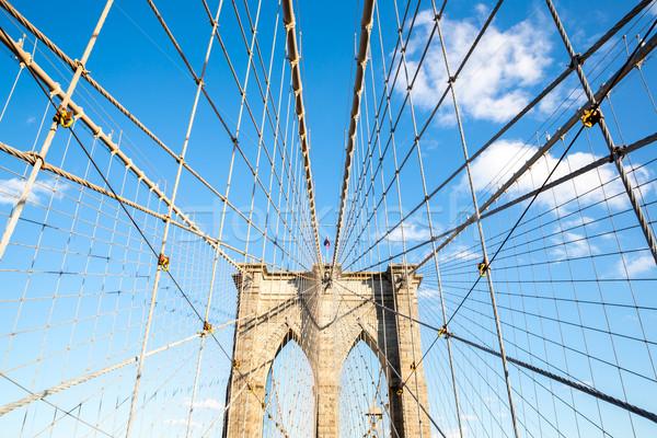 Brooklyn bridge Stock photo © vichie81