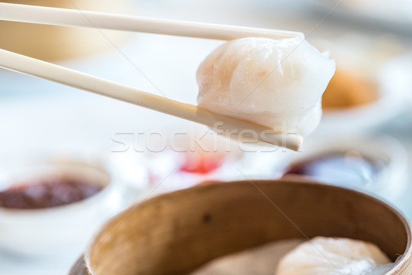 Chinese dim sum Hagao Stock photo © vichie81