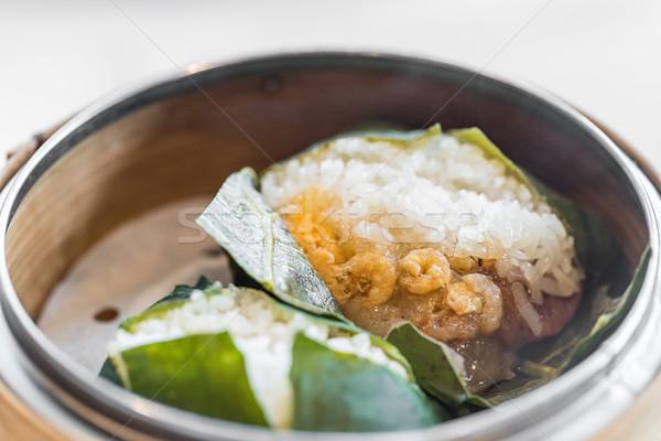риса китайский Дим продовольствие ресторан Сток-фото © vichie81