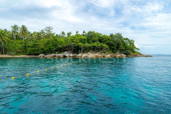 Snorkeling punkt phuket piękna wyspa niebo Zdjęcia stock © vichie81
