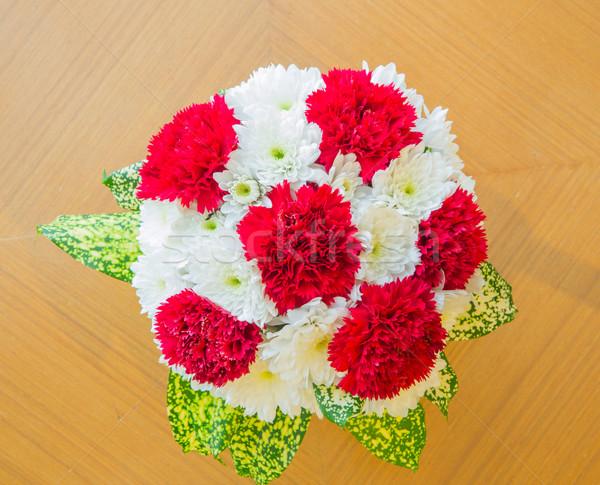 Carnation bouquet Stock photo © vichie81