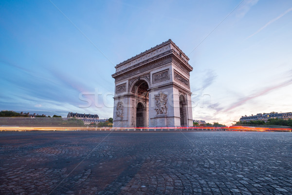 Arc of Triomphe Paris Stock photo © vichie81