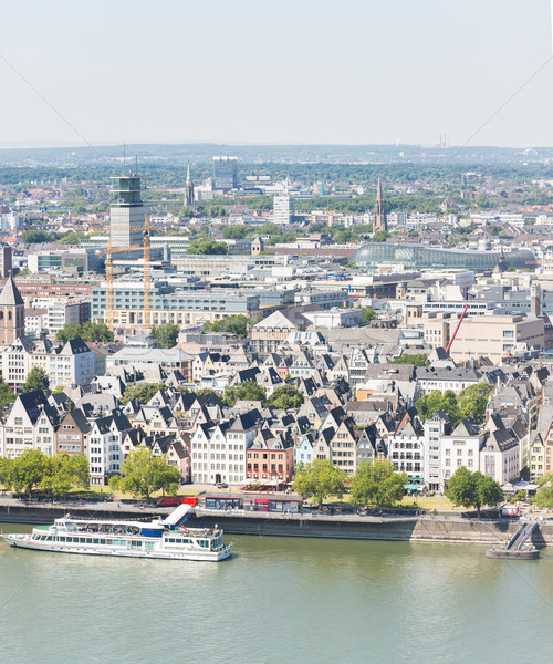 Colonia edificio iglesia arquitectura Europa Foto stock © vichie81