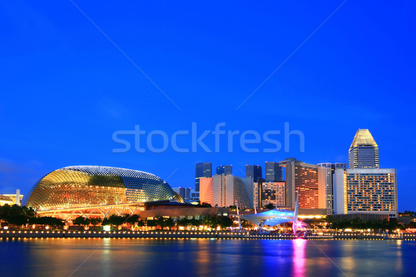 Singapore Skylines Stock photo © vichie81