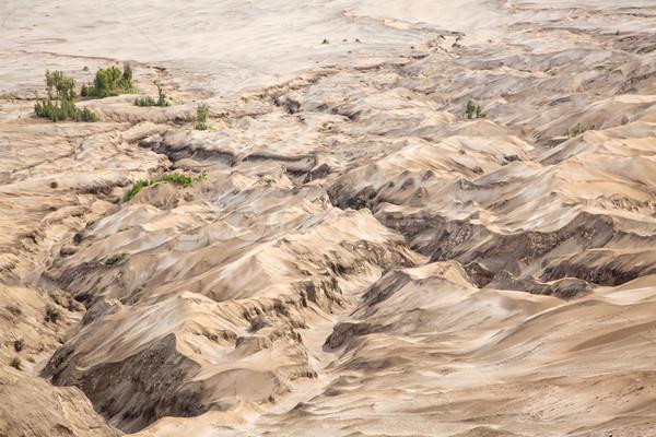 Manzara volkan krater Endonezya çöl Stok fotoğraf © vichie81