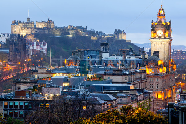 Edinburgh Skyline Stock photo © vichie81