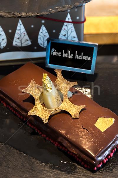 Homemade Chocolate cake Stock photo © vichie81