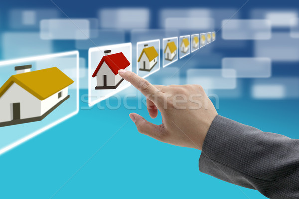 Stock photo: electronic real estate commerce