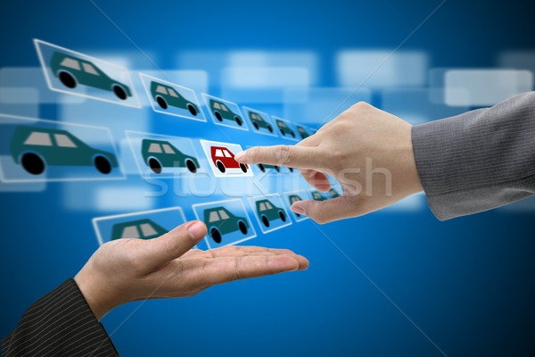 Stock photo: Buying Car