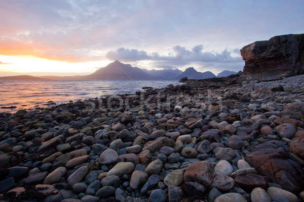 Elgol Coast Scotland Stock photo © vichie81