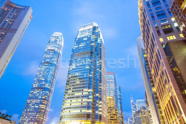 Hong Kong Central Stock photo © vichie81