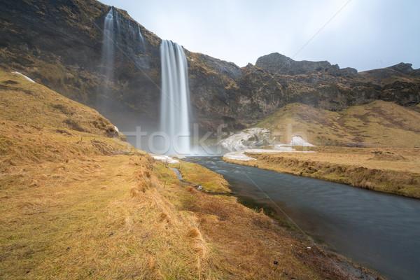 seljalandsfoss waterfall Stock photo © vichie81