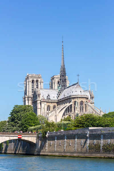 Cathedral Notre Dame Paris Stock photo © vichie81
