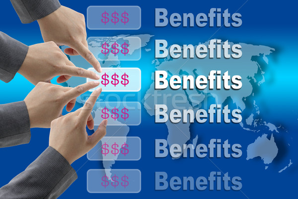 Business Benefits Stock photo © vichie81
