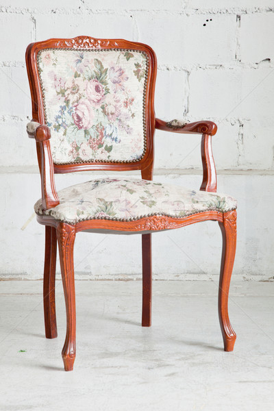 vintage chair Stock photo © vichie81