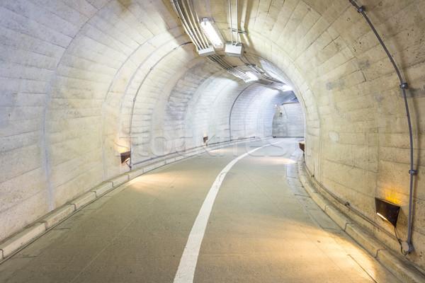 トンネル インテリア 都市 道路 通り 背景 ストックフォト © vichie81