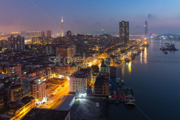 Macau Tower Stock photo © vichie81