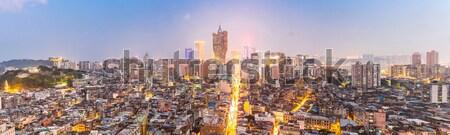 Macau cityscape Stock photo © vichie81