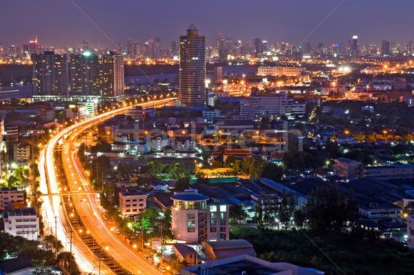 Bangkok Highway Stock photo © vichie81