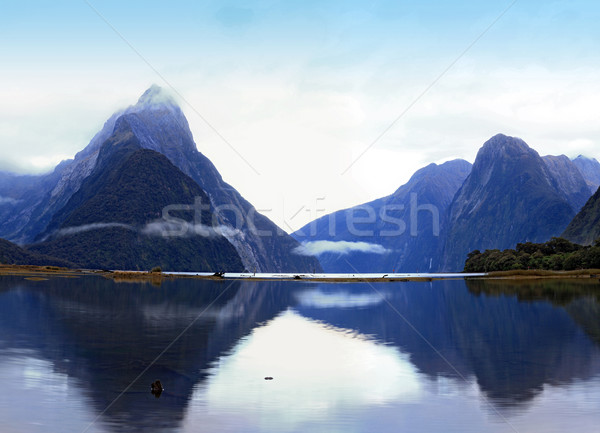 milford sound, New Zealand Stock photo © vichie81
