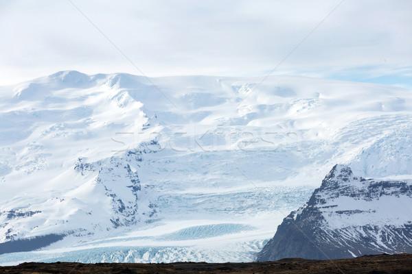 Vatnajokull Glacier Iceland Stock photo © vichie81