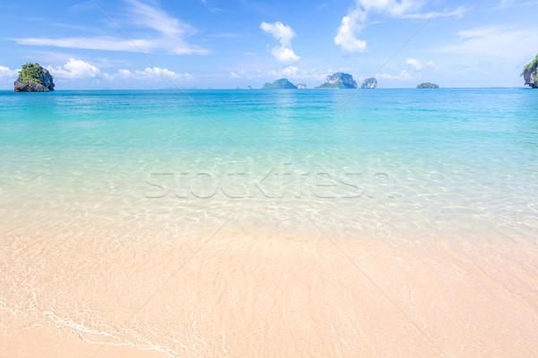 White sand beach Stock photo © vichie81