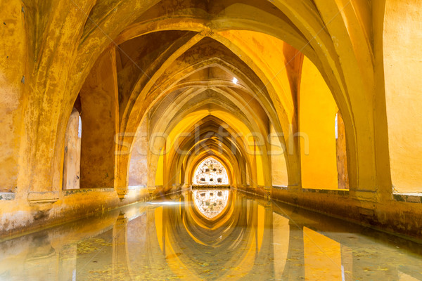 Royal Alcazar of Seville Stock photo © vichie81
