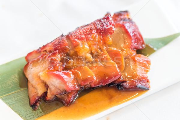 Chinese style BBQ Pork  Stock photo © vichie81