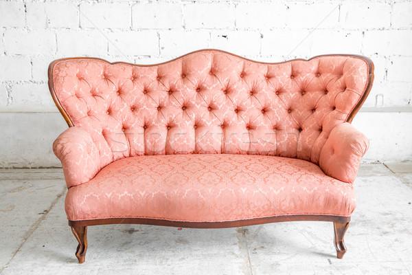 Pink Sofa Stock photo © vichie81