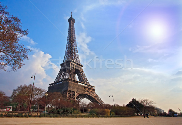 Eiffel tower Paris France Stock photo © vichie81