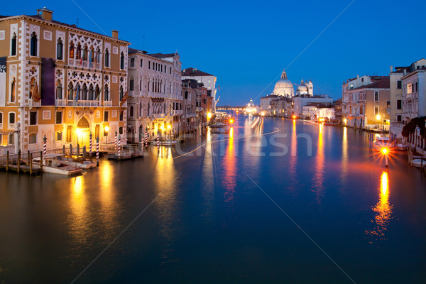 Grand canal Venice Italy Stock photo © vichie81