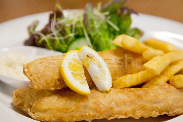 Stock photo: Fish and Chip