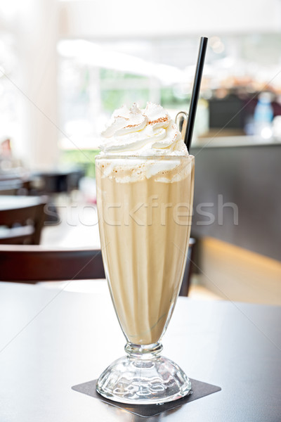iced latte coffee  Stock photo © vichie81