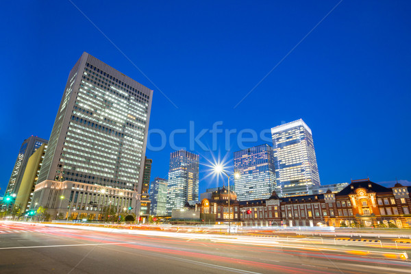Office Tokyo Station Japan Stock photo © vichie81