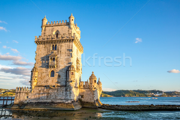 Tower of Belem Portugal Stock photo © vichie81