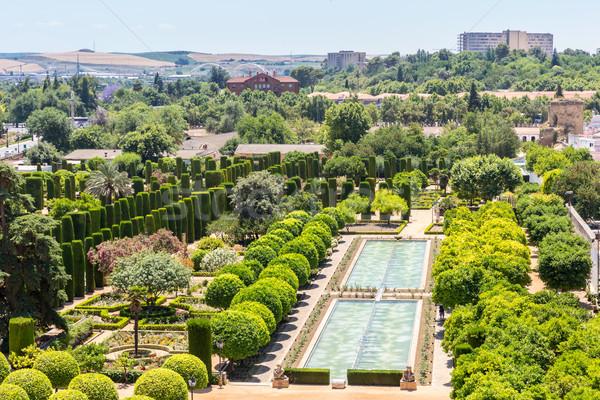 moorish style garden Stock photo © vichie81
