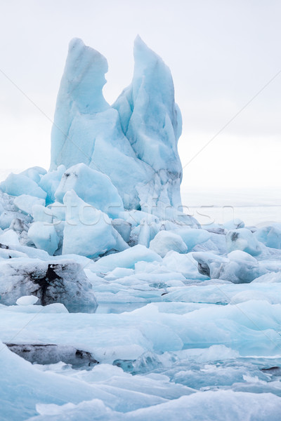 Jokulsarlon lagoon Iceland Stock photo © vichie81
